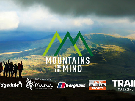 Mountains for the Mind- a fantastic new initiative supported by TRAIL Magazine and MIND.