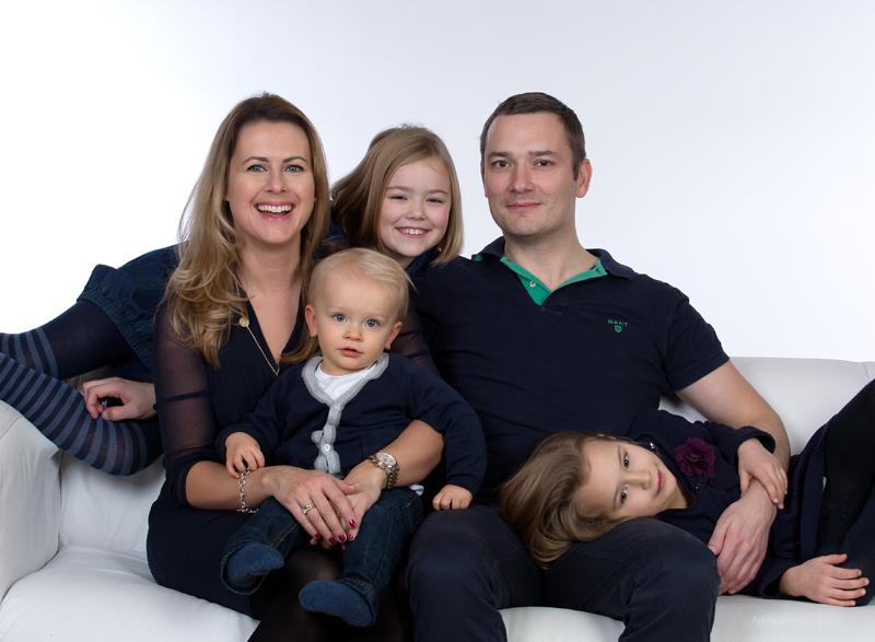 Familien Shooting FotoStudio Hübner