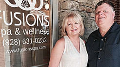 Working toward relaxation: After years of renovation, Fusions Spa relocates to downtown Sylva