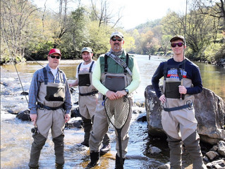 Cast off your cares fly fishing in Western North Carolina