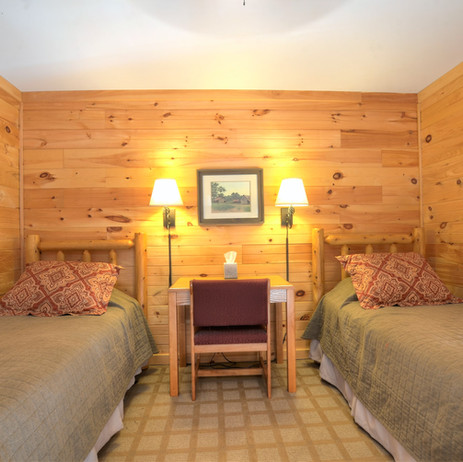 Lodge Room with 2 twin beds