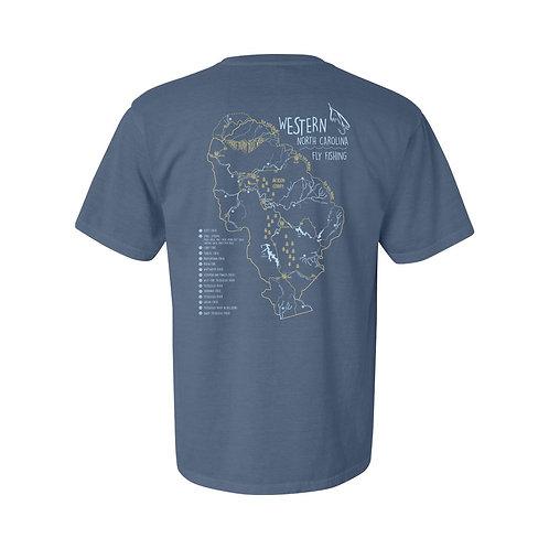 T-Shirt - Vintage Blue