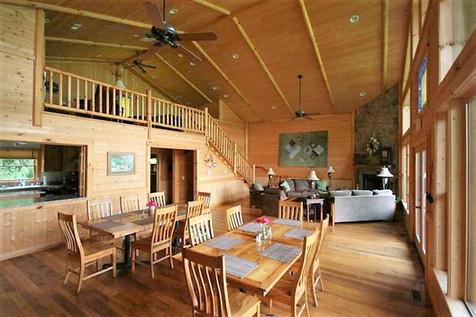 Bryson City Lodge DIning Room