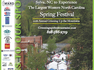 Fusions Spa is Sponsoring Sylva's Greening Up the Mountains Festival