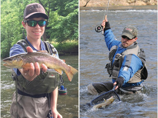 N.C. Trout Capital Produces Two Anglers for National Fly Fishing Teams