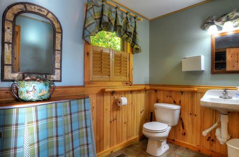 Lodge Half Bath