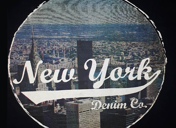 New York Tee in Black by Espionage