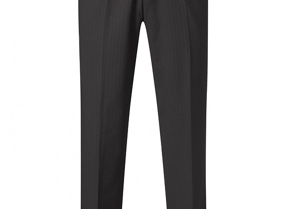 Skopes Darwin Trouser – Black Pinstripe