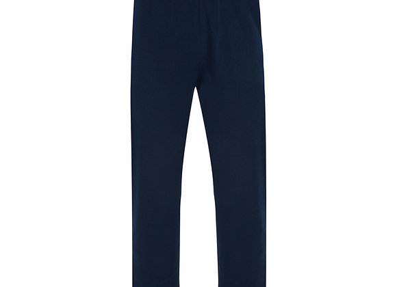 Cotton Joggers in Navy by Espionage