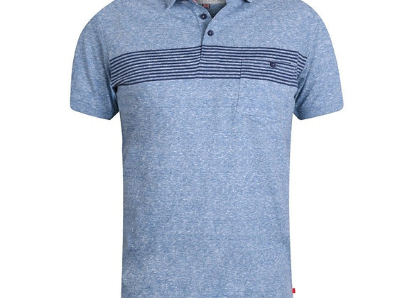 Hunter Polo by D555 in Light Blue