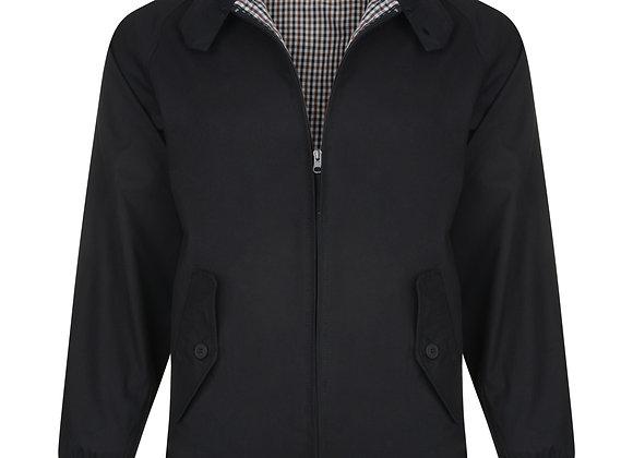 Harrington Jacket in Black by Kam