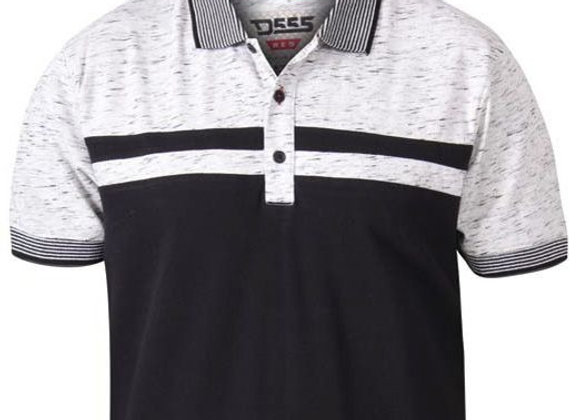 Spider Polo by D555 in Black/Grey by D555