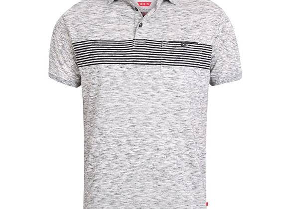 Hunter Polo by D555 in Light Grey