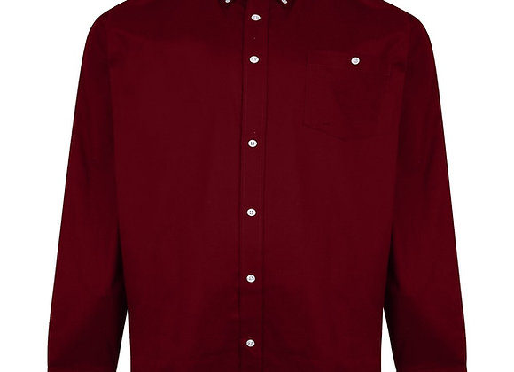 Long Sleeve Wine Shirt by Espionage