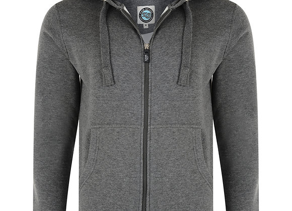 Zip up Hoodie in Grey by Kam