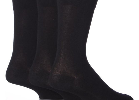 3 pack of Soft Top Socks