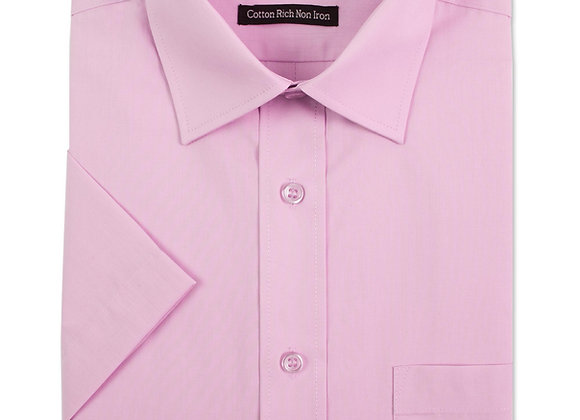 Light Pink Short-Sleeved Shirt by Double Two