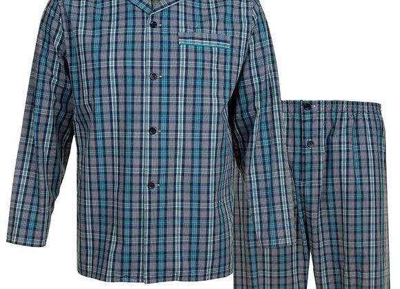 Blue Check Pyjamas by Espionage
