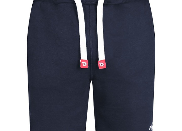 Harvey Cotton Shorts in Navy by D555