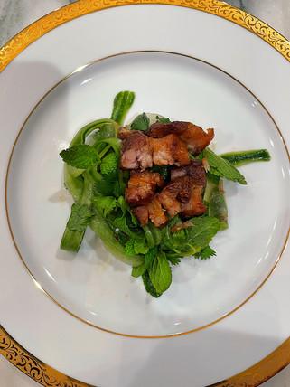 Crispy Pork Belly Asian Salad