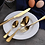 Thumbnail: 24 Pieces Golden Stainless Steel Cutlery Set With Luxury Gold Gift Box