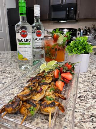 Bacardi Citrus Rum Shrimp