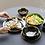 Thumbnail: Ceramic Plate Black Gilt Tableware