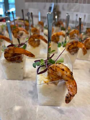 Mini Shrimp n Grits
