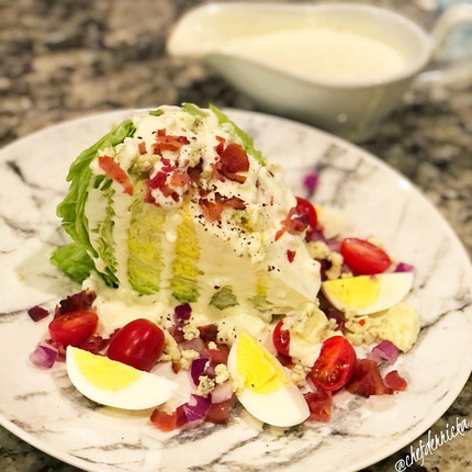 Loaded Wedge Salad