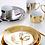 Thumbnail: Ceramic Gold & Silver Plates & Mugs