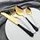 Thumbnail: 4pcs Stainless Steel Flatware Set