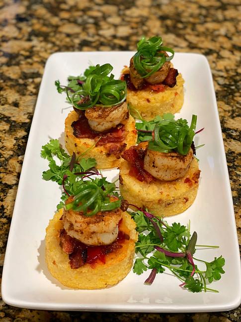 Shrimp n Grits Bites
