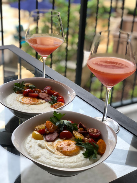 Heirloom Tomato Smoked Gouda Cheese Grits
