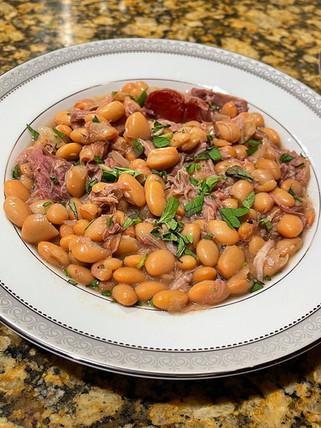 White Bean & Smoked Ham Soup