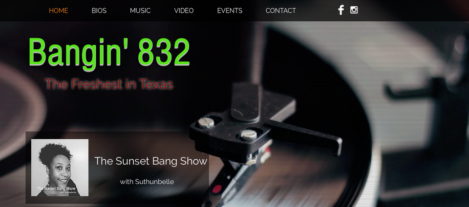 Bangin 832 Radio (Mock Up)