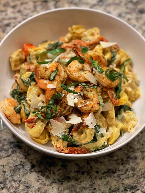 Tuscan Shrimp Tortellini