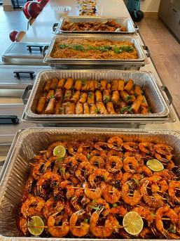 Asian Catering Spread