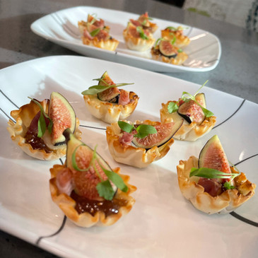 Fig, Brie & Proscuitto Bites