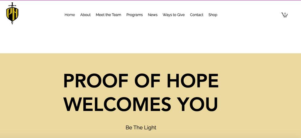 Proof of Hope Non-Profit Organization