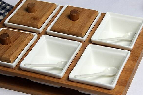Separate Compartment Dish