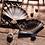 Thumbnail: Japanese-Style Marble Fan Ceramic Sushi Plates