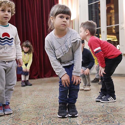 CLASSES OBERTES grups sensibilització (4,5 i 6 anys)