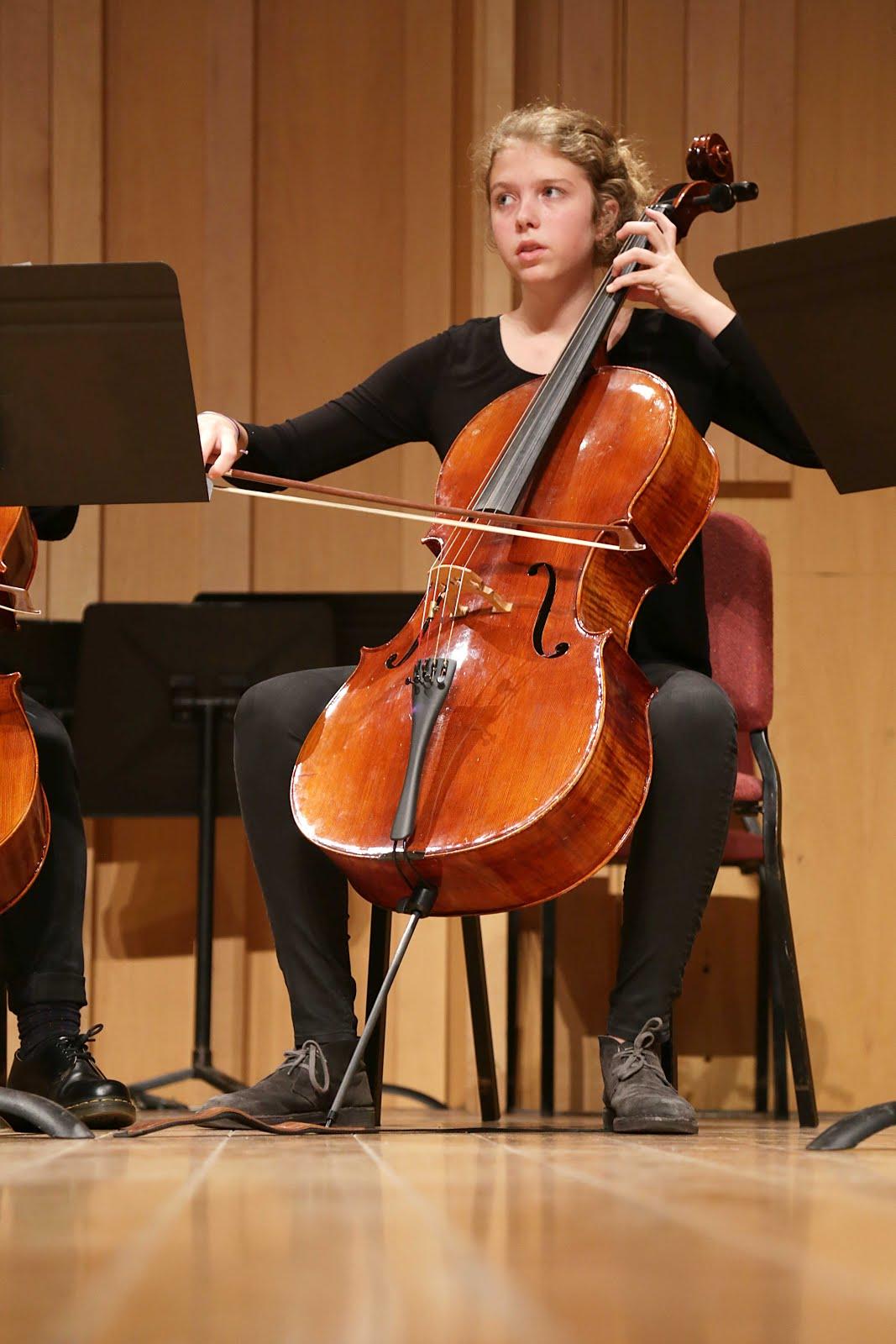 conjunt de violoncels