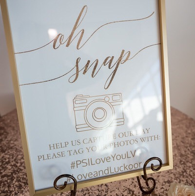Custom signage | Bar Sign | Wedding