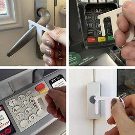 ponta higienica porta chaves protecção segurança brindes  solo em foco marketing