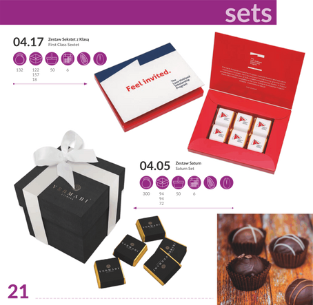 Sets chocolate