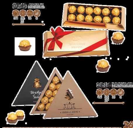 Caixas de Chocolate