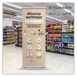 roll ups expositores banners