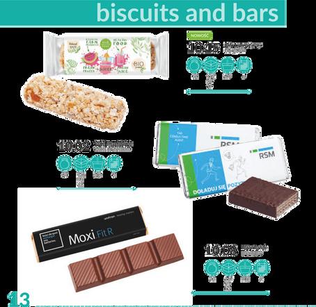 Barras e Biscoitos