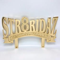 custom lowrider car club plaque